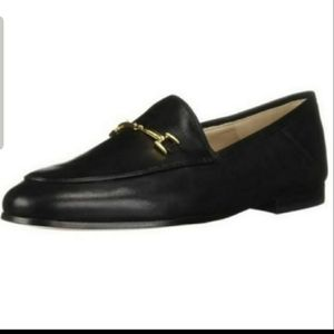 Sam Edelman Loraine Black Leather Loafers
